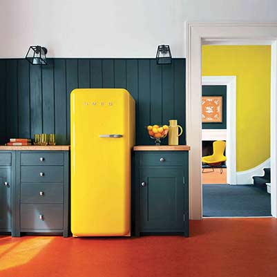 Smeg Fridge from Hampshire to Devon