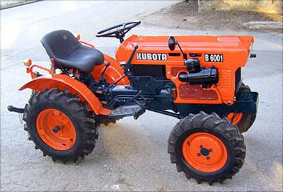 Kabuta Mini Tractor from Surrey to Wiltshire