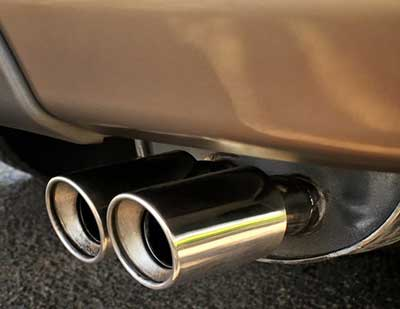 Car Exhaust from Copthorne to London