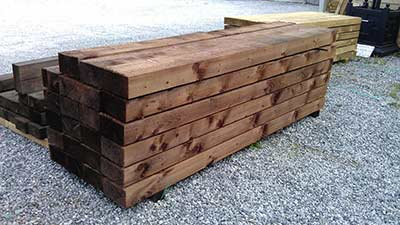 50 Railway sleepers from Devon to Hampshire