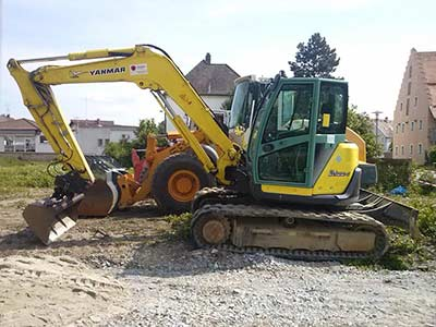 Ford 550 Digger from Yorkshire to Essex
