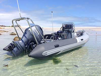 RIB boat from Worcestershire to Fuengirola, Spain