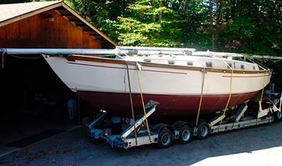 Cabin Cruiser on Trailer from Cheshire to Cambridgeshire