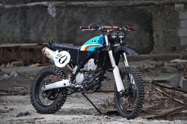 Kawasaki KLX250 da Montano a Sesto San Giovanni