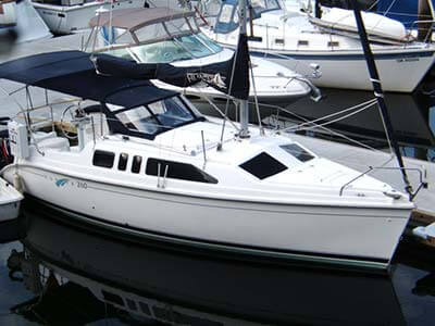 26ft Hunter from Windermere to Richmond